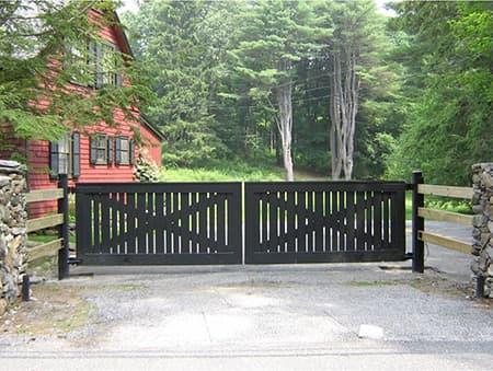 swing gates